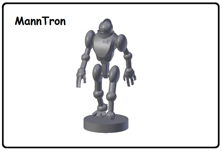 MannTron of the MakerTrons 3D Print 39114