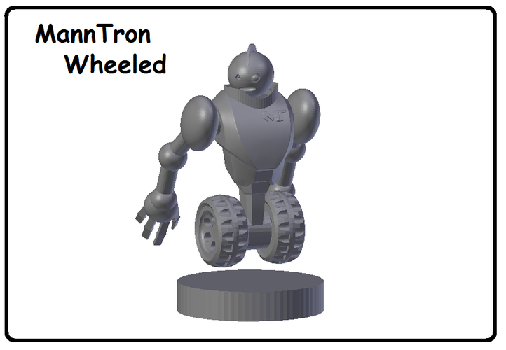 MannTron of the MakerTrons 3D Print 39115
