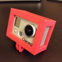Small GoPro Hero 1 Case 3D Printing 39120