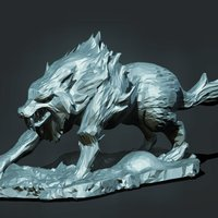 Small Wolf 3D Printing 39152