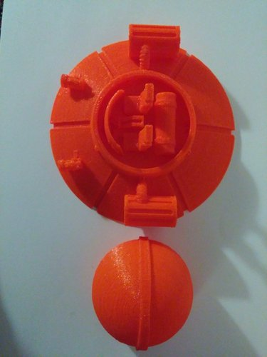 Rick and Morty Spaceship 3D Print 39156