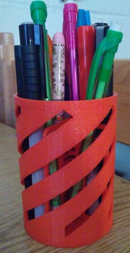 Simple Pencil Holder 3D Print 39158