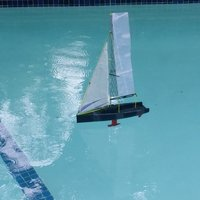 Small Sailboat 3D Printing 39287