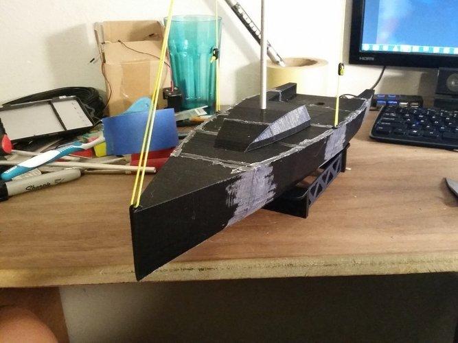 3D Printed Sailboat by luke_gossman | Pinshape