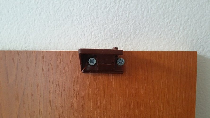 Wardrobe shelf holder 3D Print 39304