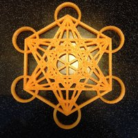 Small Metatron's Cube 3D Printing 39310