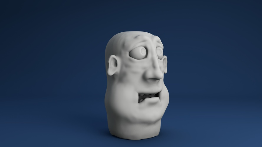 Face for finger 04 3D Print 3932
