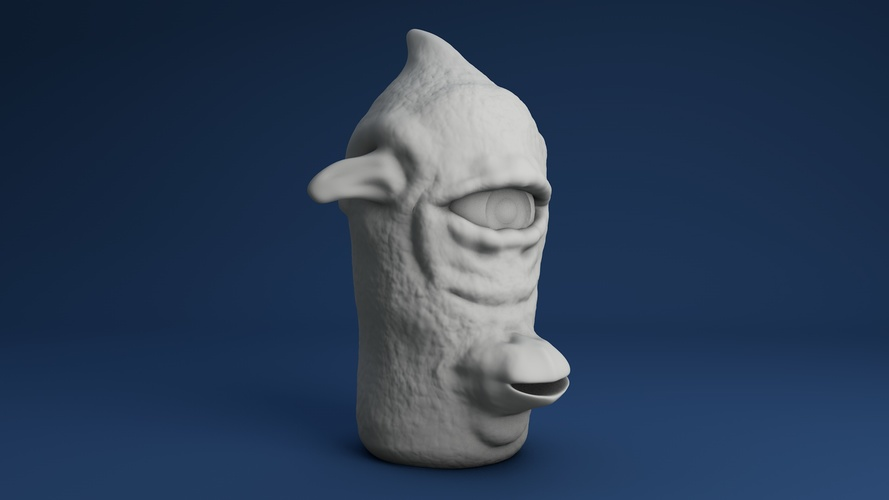 Face for finger 03 3D Print 3934