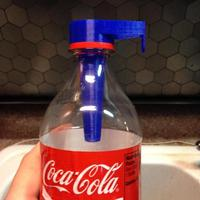 Small Soda Pop Bottle Mosquito & Fly Trap 3D Printing 39393