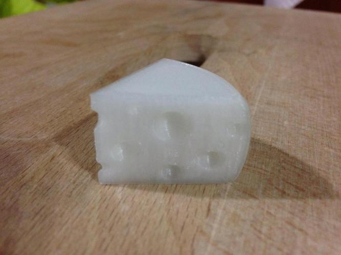 Cheese Wedge 3D Print 39400