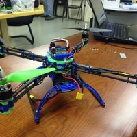 Small 3D Printed & Carbon Fiber QuadCopter 3D Printing 39413