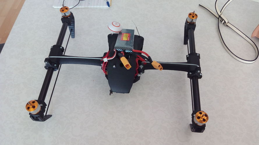 DJI Inspire1 and Walkera inspired quadcopter 3D Print 39468