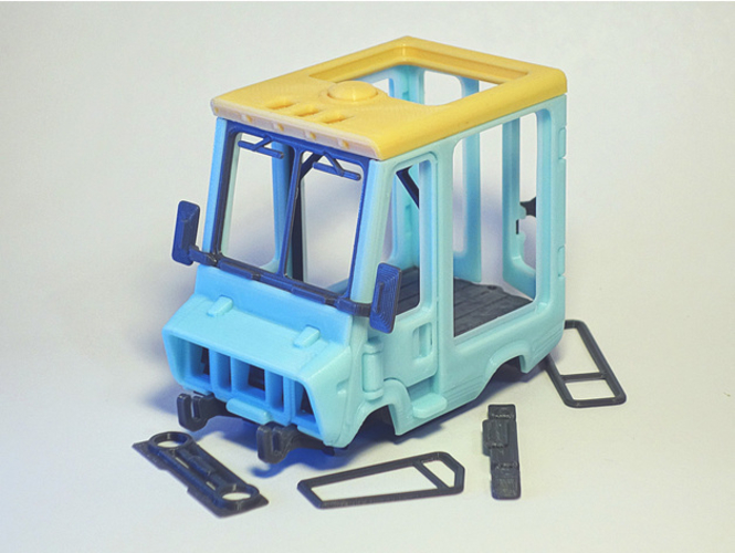 Food Truck for Built 3D Print 395013