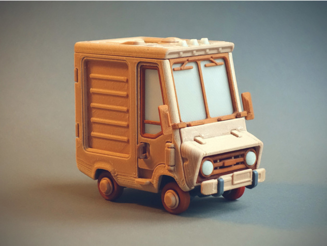 Food Truck for Built 3D Print 395014
