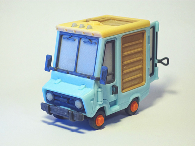 Food Truck for Built 3D Print 395015