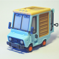 Small Food Truck for Built 3D Printing 395015