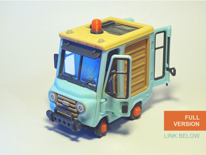 Food Truck for Built 3D Print 395016