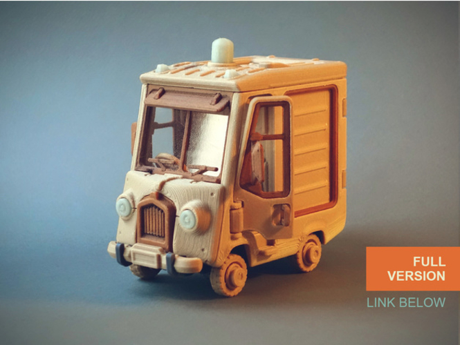 Food Truck for Built 3D Print 395017