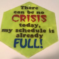 Small No Crisis Sign 3D Printing 39529