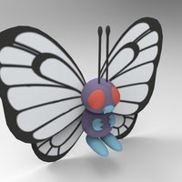 Small Butterfree 3D Printing 39578