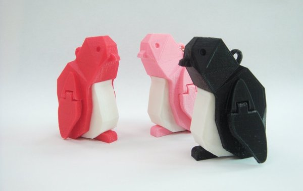 Medium Penguin 3D Printing 39614