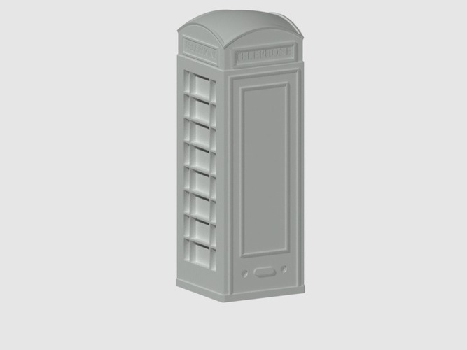London Phone Booth 3D Print 39673