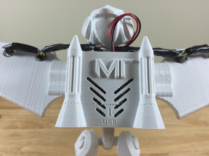 MakerTron Arduino Smart Flight Suit 3D Print 39700