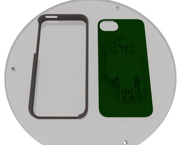 ECLON  Iphone 5 covers for your Customizable cases 3D Print 39827
