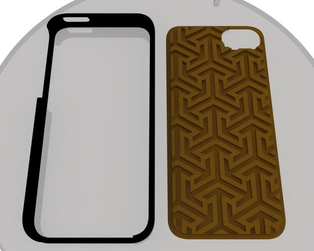 ECLON  Iphone 5 covers for your Customizable cases 3D Print 39828