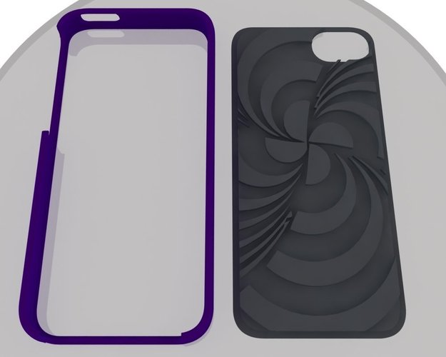 ECLON  Iphone 5 covers for your Customizable cases 3D Print 39829