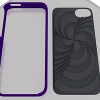Small ECLON  Iphone 5 covers for your Customizable cases 3D Printing 39829