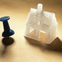 Small Old little house 3D Printing 39840