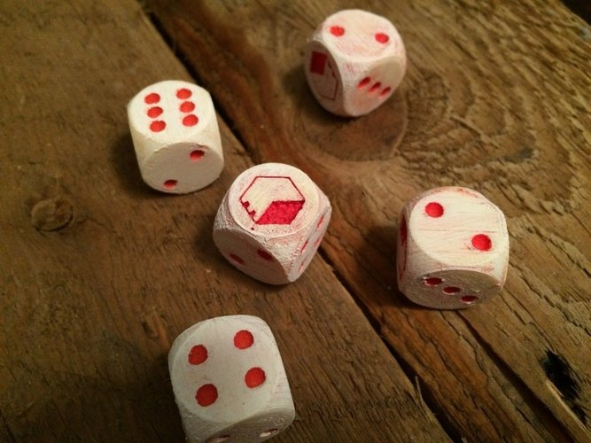 3D Printed Custom Dice for Maker Games by nathansmind | Pinshape