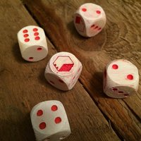 Small Custom Dice for Maker Games 3D Printing 39864