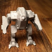 Small Battle Suit V2 3D Printing 39868