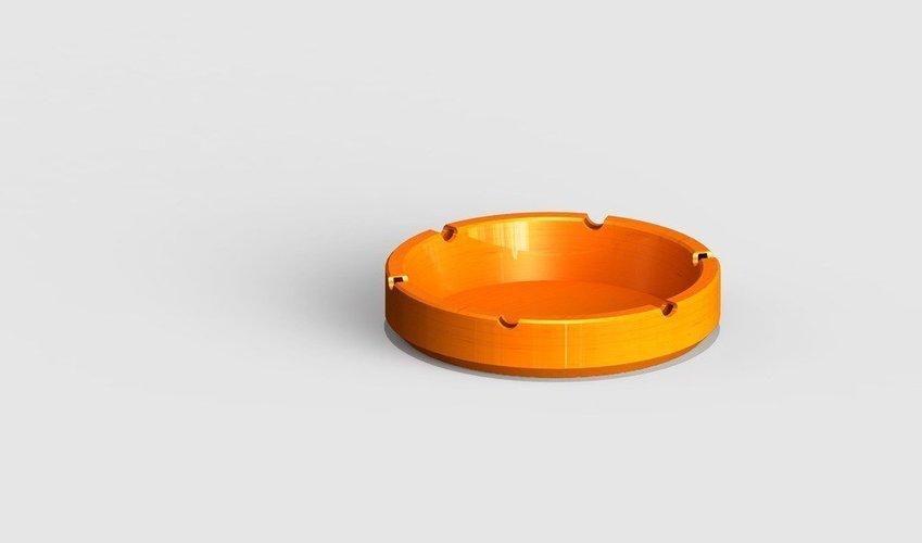 simple ashtray 3D Print 39910