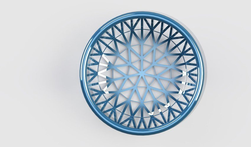 patterned basket 3D Print 39939