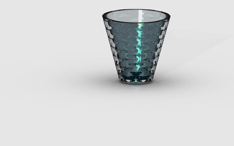 Drinking glass 3D Print 40029