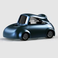 Small toy car 3D Printing 40039