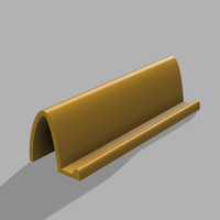 Small Simple business card stand 3D Printing 40066