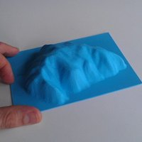 Small Ayers Rock 3D Printing 40119