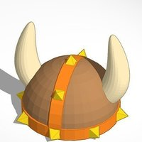 Small Viking Helmet 3D Printing 40293