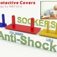 Small Anti Shock / Protective Socker for kids by NQT2015 3D Printing 40359