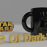 Small STAR WARS Darth Vader Glasses 3D Printing 40372