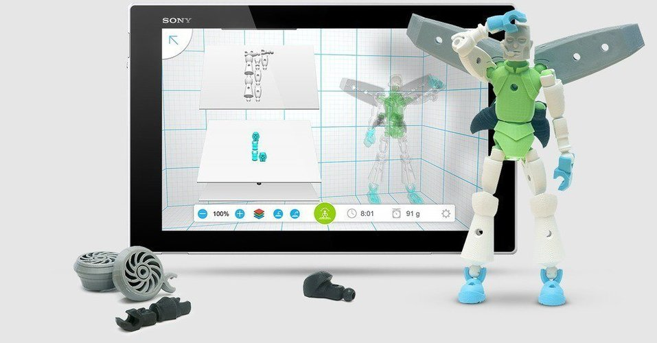 Autodesk Tinkerplay Kid-Friendly 3D Print 40382
