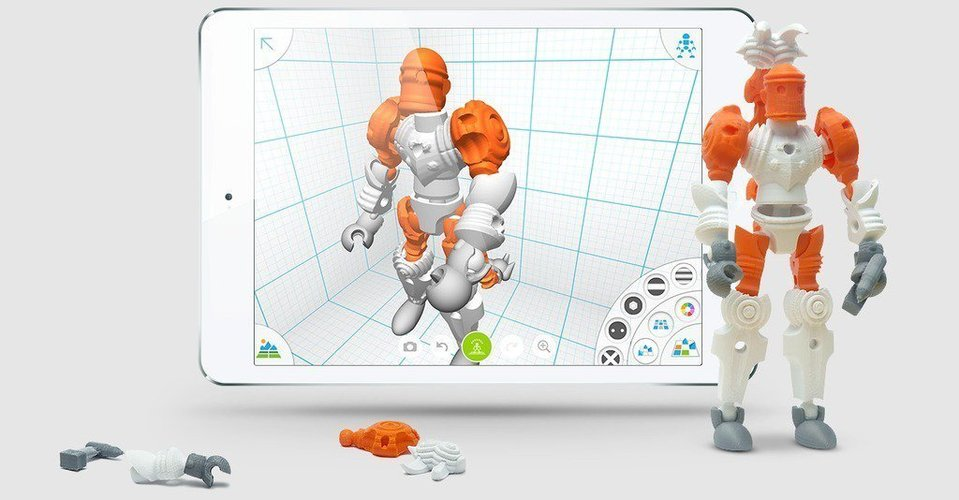 Autodesk Tinkerplay Kid-Friendly 3D Print 40386