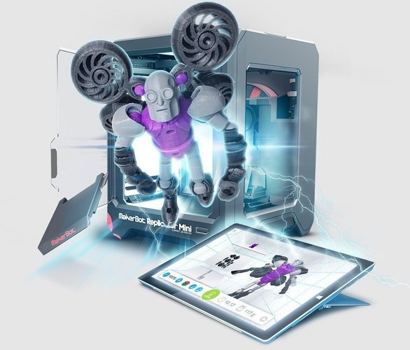 Autodesk Tinkerplay Kid-Friendly 3D Print 40388