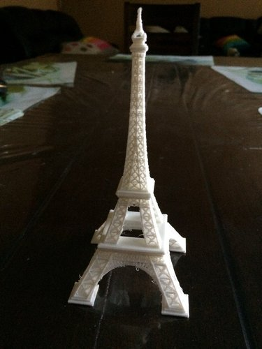 Eiffel Tower #SeeTheWorld 3D Print 40433