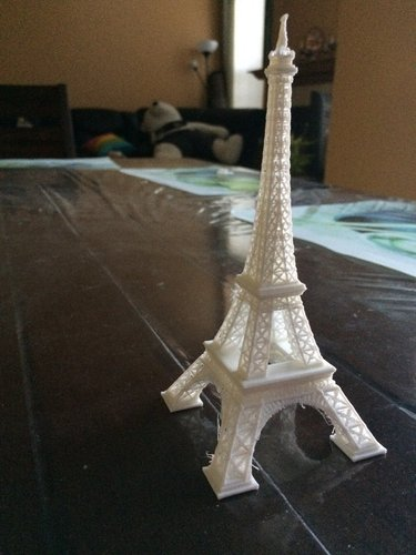 Eiffel Tower #SeeTheWorld 3D Print 40435