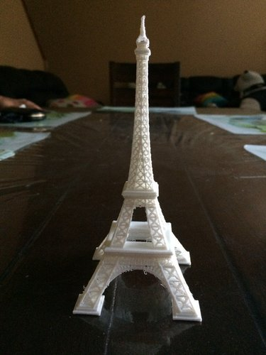 Eiffel Tower #SeeTheWorld 3D Print 40436
